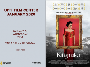 UP Film Center Screens 'The Kingmaker' on January 29