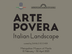 Arte Povera: Italian Landscapes Opens on February 10 at the MET Museum @ Metropolitan Museum of Manila