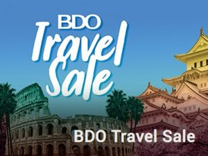Fulfill Your 2020 Travel Plans With BDO Travel Sale This January @ SMX Convention Center Aura
