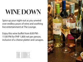 Enjoy a Wine Buffet at Wine Down This January