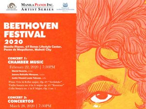 Celebrate the Best Works of Ludwig Van Beethoven at Beethoven Festival 2020 @ Manila Pianos