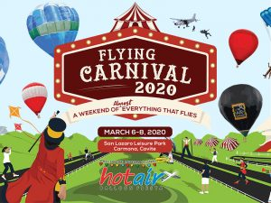 Philippine International Hot Air Balloon Fiesta Returns This March in a New Venue in Cavite @ San Lazaro Leisure Park