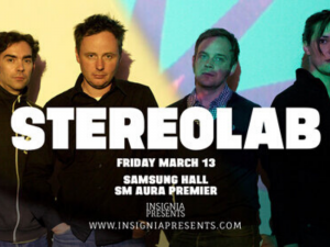 Stereolab to Perform Reunion Show in Manila This March @ Samsung Hall