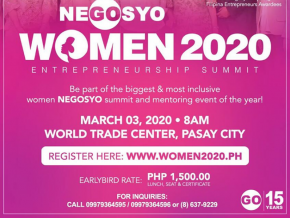 The Women 2020 Entrepreneurship Summit Happens This March