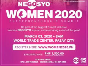 The Women 2020 Entrepreneurship Summit Happens This March @ World Trade Center Halls A, B & C
