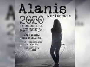 25 Years of Jagged Little Pill: Alanis Morissette to Perform Live in Manila This April @ Mall of Asia Arena