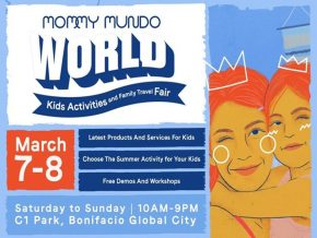 Get Hold of the Best Products and Services for Your Kids at Mommy Mundo World This March