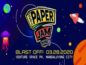 Get Creative at Paper Jam MNL 2020 This March @ VentureSpace PH