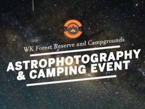 Enjoy a Night of Astrophotography, Stargazing & Camping This March