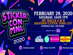 Gear up for Sticker Con MNL This February @ Bayanihan Center
