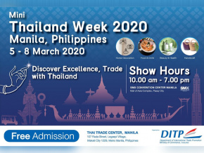 Thai Trade Center Manila Brings Mini Thailand Week 2020 This March