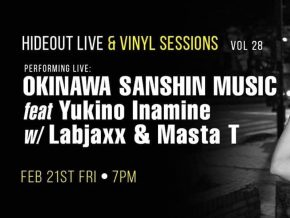Hideout Live & Vinyl Sessions Vol. 28 Featuring Yukino Inamie at Ikomai This February 21