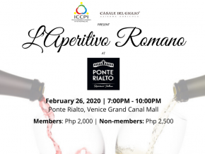 Experience Rome Through Fine Wines at L'Aperitivo Romano This February