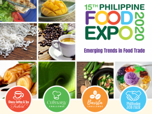 Be There at the 15th Philippine Food Expo Happening This April @ SMX Convention Center Manila