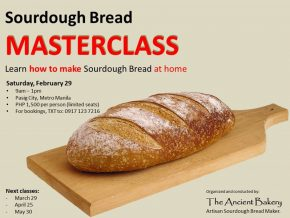 Harness Your Baking Skills at Sourdough Bread Masterclass This February 29