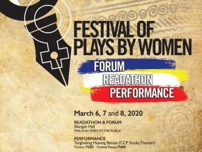 Empower Women's Talents at CCP's Festival of Plays by Women This March