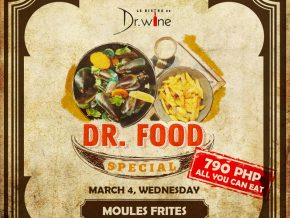Dr. Wine Brings Back Dr. Food Special This March 4