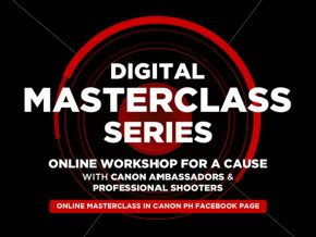 Canon PH Presents Canon Digital Master Class Series for a Cause