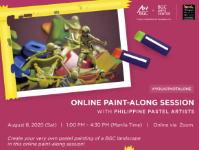 Join BGC Arts Center's Online Paint-Along Session with Philippine Pastel Artists This August