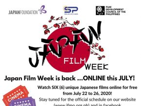 Japan Film Week 2020 To Screen Films Online for Free This July