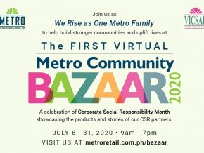 Metro Retail Stores Launches First-Ever Virtual Community Bazaar This July