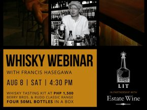 Explore Scotch Whiskeys at Estate Wine x LIT Manila: Whisky Webinar This August 8