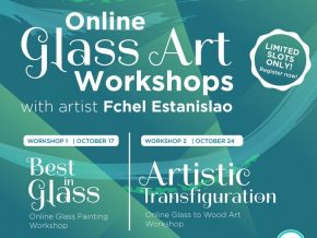 BGC Arts Center Presents 2-Day Online Glass Art Workshop Series