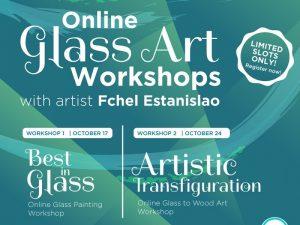 BGC Arts Center Presents 2-Day Online Glass Art Workshop Series