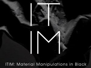 ITIM: A Material Manipulations in Black Art Exhibit @ The Alley at Karrivin, 2316 Chino Roces Avenue Ext. Makati City