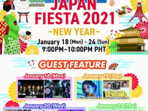 Japan Fiesta 2021- New Year Releases Schedule of Events for January 18-24, 2021