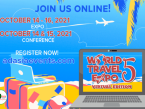 Catch the World Travel Expo 2021 on Oct 14-16