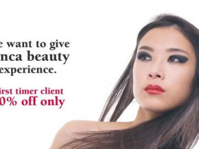50% OFF Promo for First Time Clients at Junca Salon
