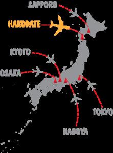 Hakodate Map1
