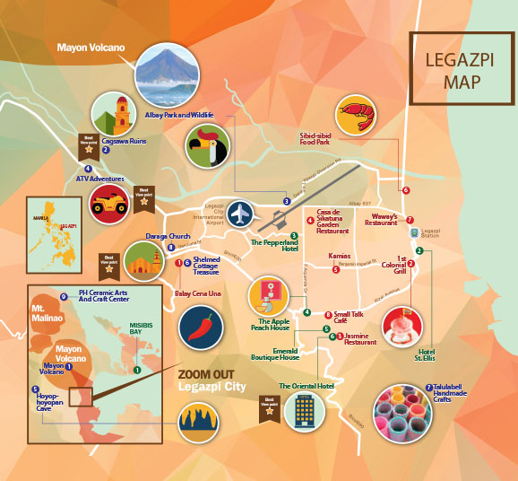 Legazpi, Albay: History, fun and adventure, and lots of spicy food