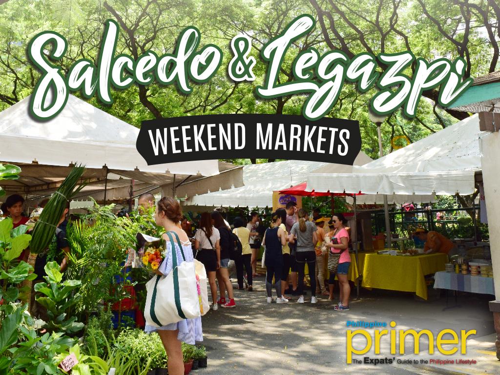 Salcedo and Legazpi Weekend Markets