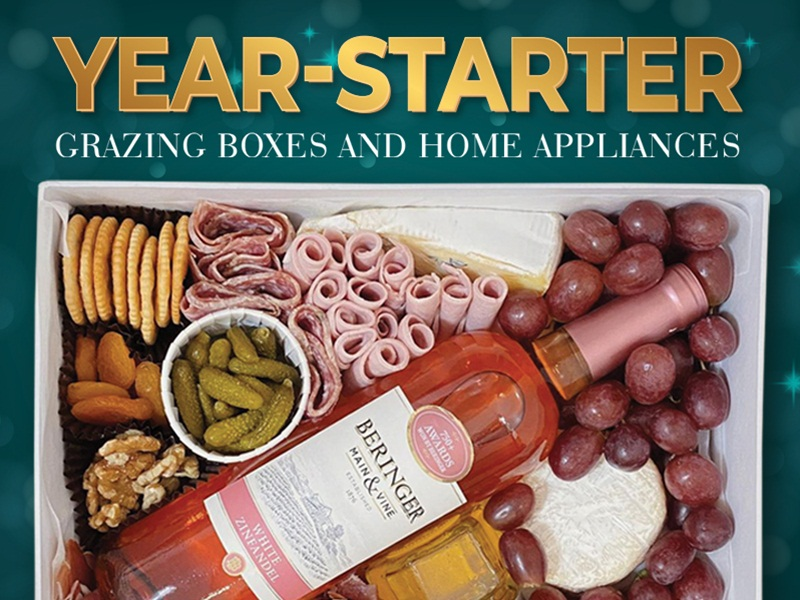 Year-Starter: Grazing Boxes and Home Appliances