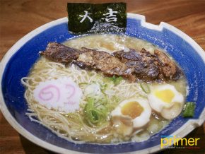 Hanamaruken Ramen Serves Happiness in a Bowl