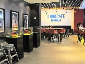 NBA Cafe Manila