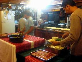 Log Cabin Sagada: A Fine Feast!