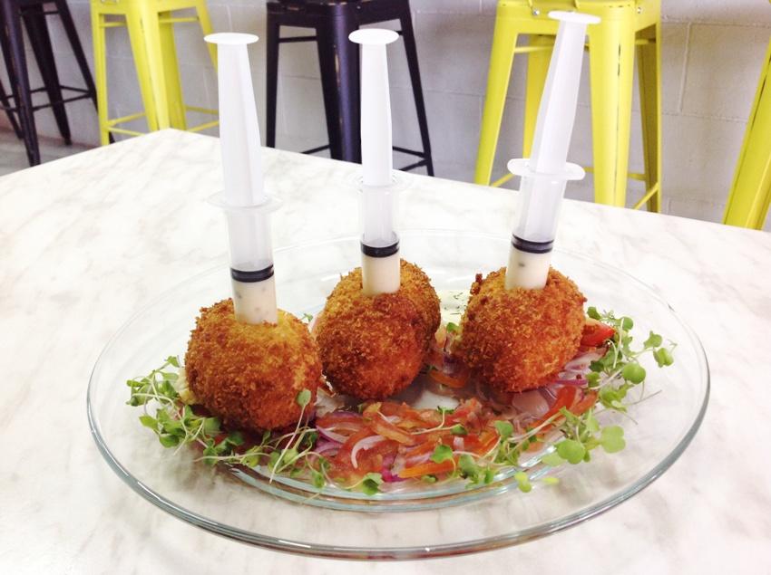Fried Mash Potato Balls (P 170) PHOTO 4