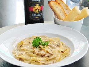 An Italian experience awaits you at Farfalla Osteria