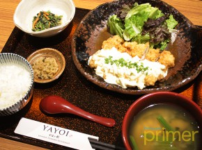 YAYOI Japanese Teishoku Restaurant in SM Megamall Satisfies Your Cravings for Set Menu Dining