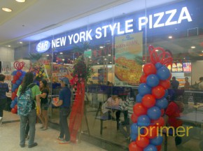 S&R New York Style Pizza Now Open at Glorietta 2!