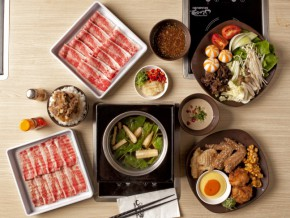 Experience authentic Japanese shabu-shabu at Shaburi