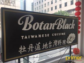 Botan Black Café in Bonifacio High Street, Taguig