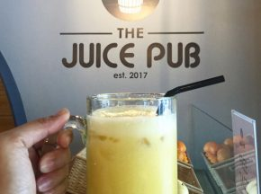 Healthy eats, healthy drinks at The Juice Pub in Aguirre Avenue