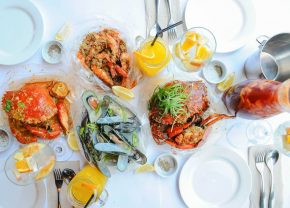 Get your hands dirty at Shrimp Bucket in BGC