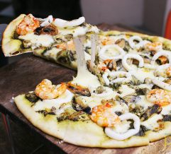 Woodfire Bistro in Makati:  perfect place to enjoy authentic Italian pizzas