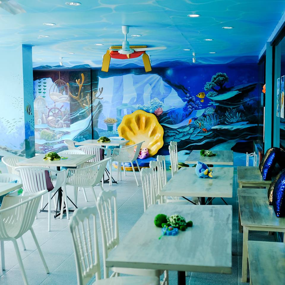Under the Sea in Maginhawa, QC: The first mermaid-themed Cafe in PH