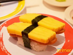 Genki Sushi in Ayala Malls 30th: Serving you Japanese goodness via bullet train
